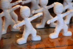 Zombies bij Happy Hands Studios
