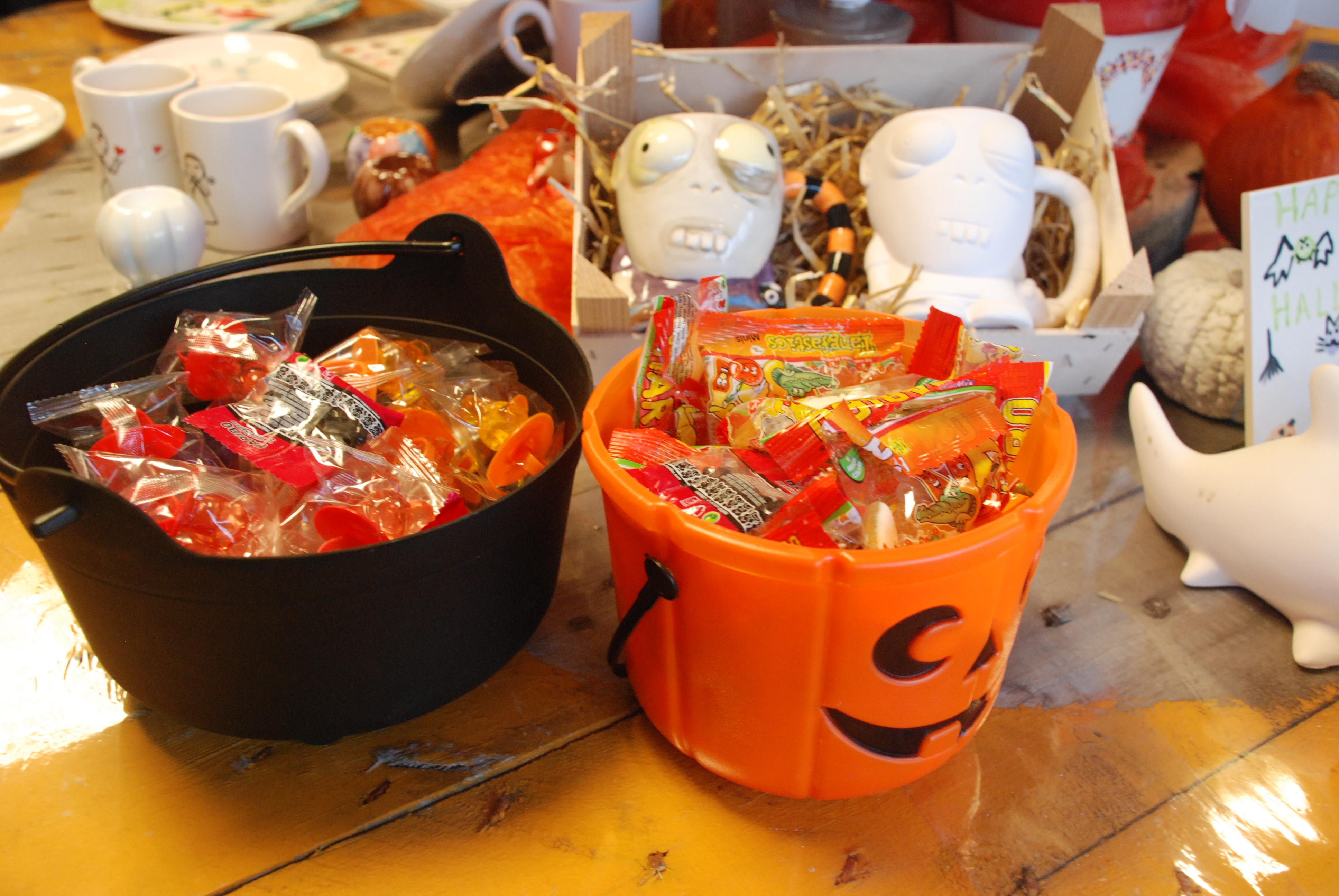 Halloween Snoep.Halloween Snoep Happy Hands Studios Keramiek In Kleur